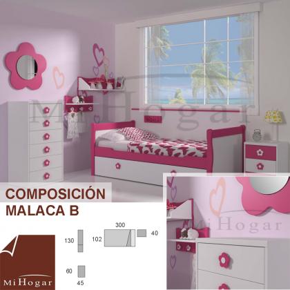 DORMITORIOS INFANTILES MALACA